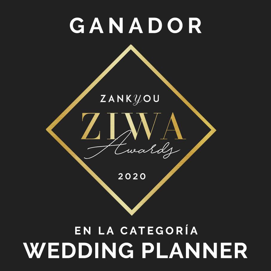 Bianca Weddings gana premio ZIWA 2020